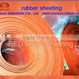 from 1mm to 50mm thickness industrial EPDM rubber sheet