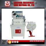 leather strap cutting machine shoe finish machines