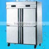 Hot Sale Stainless Steel Four Door Deep Freezer Refrigerator(ZQR-1.0L4)