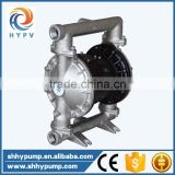 Mechanical diaphragm dosing stainless steel pump pneumatic for solvent