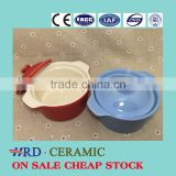 Stocked Industrial ceramic Soup pot Milk Pot Dessert bowl