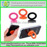 Enviroment Friendly Flexible Glow Silicone Ring Bands For Promotional Gift