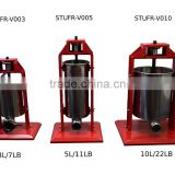 3L,5L,7L,10L,15L S/S hand operated sausage stuffer with good quality