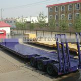 2/3 Axle 30-60 Ton Low Bed Flate Semi Trailer For Sale