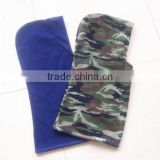 sport winter 100% polyester balaclava hood army colourful motorcycle polar fleece balaclava wear as scarf & hat