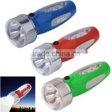 2015 plastic strong super bright led lights flashlights for tents for hunting/camping/emergency