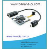 Open-source IP camera wifi on board linux system board small ip camera for banana pi/raspberry pi/banana pro