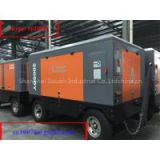 Mobile/Portable screw air compressor driven by Cummins Diesel Engine for drilling machine