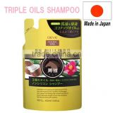 Japan Horse oil & Coconut oil & Camellia oil Shampoo 400ml Wholesale