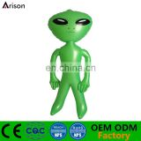 Environmental non-phthalate PVC inflatable 3D alien toy inflatable cartoon doll for inflatable toys