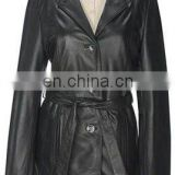 Ladies Leather Coat Art No: 1381