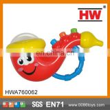 Hot Selling with light and music baby saxophone