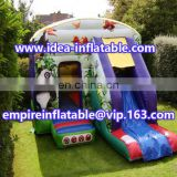 outdoor popular inflatable panda jumping house bouncy castle ID-CB087