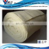 High CLO value 50% anti-microbial Healthy Wool padding for warm garment, quilt, outdoor clothing