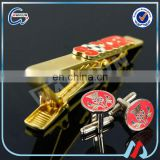 CL-4 Custom Cheap Tie Clips And Cufflink For Men