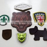 soft Branded PU PVC Leather Logo Patch