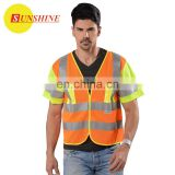 Adult reflex yellow fashion safety vest