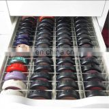 Acrylic Makeup Organizer makeup compact powder compartment drawer divider storage , powder compact case