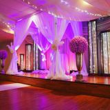 Outdoor modern wedding backdrop design background stand