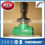 PPR Stop Valve PPR Brass Valve from PPR pipe fitting factory by DIN8077/8078                                                                         Quality Choice