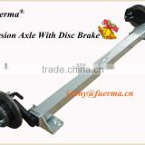 Rubber Torsion Axle With Disc Brake