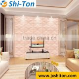 Leather wall panel for KTV wall decoration luxury 3D effect decorative acrylic wall panels