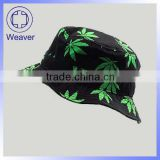 Wholesale Free Pattern Children Bucket Hat / Fashion Leaf Kid Summmer Hats