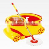 360 cleaning floor mop bucket telescopic pole dust floor dust cleaning machine