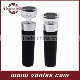 Red Wine Vacuum stopper Retain Freshness Bottle Stopper Aluminium alloy and Stainless Steel Head Sealer Plug