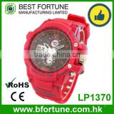 LP1370 2016 chep dual time 3 atm water resistant lcd display new model watches