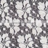 2016 new nice attractive flower non woven interlining lace fabric