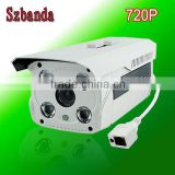 4 lamps Full HD 720P/ 1.0 MP/ popular waterproof outdoor hd wifi ip camera with cheaper price