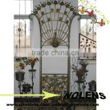 Wrought Iron Flower Shelf Plant Stands Garden Metal Flower Stand