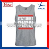 fashion design sports singlets with custom logo