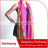 Fashionable chiffon satin printing long scarf shawl dubai muslim scarf hijab                                                                         Quality Choice
