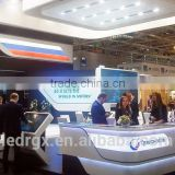 indoor high resolution advertising video P6mm led display
