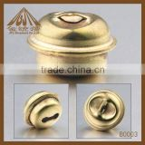 hot sale fashion metal small antique brass bell