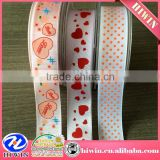 wholesale Cheap decorative printed ribbon / printed grosgrain ribbon /custom printed ribbon