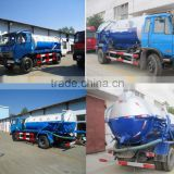 6000 liters vacuum tank truck,sewage suction truck,sewer cleaning truck