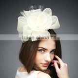 PP fancy white hair accessories for evening and wedding party for bride bridesmaid
