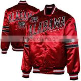 satin jacket for man/satin jacket for lady/satin baseball jacket for unisex