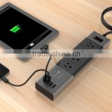 extension multi commercial outlet socket,universal electric wall socket,wall power socket with usb charger