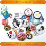 Good quality promotional gifts custom round safety metal pin badge,tin pin button badge,badge
