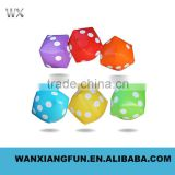 Inflatable dice, PVC inflatable dice, good educational toys inflatable dice/PVC inflatable dice for games