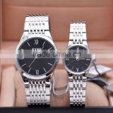 EYKI Brad Japan Movt Quartz Watch Stainless Steel Band Couple Lover Watch Water Resistant