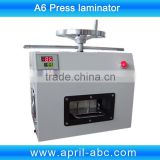 A6 size credit magnetic strip card press laminator                                                                         Quality Choice
