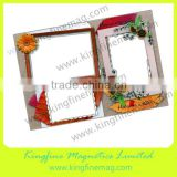 business card frame,flexible magnetic frames,magnetic frame vinyl,wall sticker photo frame,rubber flexible frames