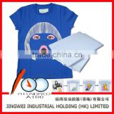 T-shirt inkjet and laser heat transfer paper for dark and light color cotton fabric A4&A3