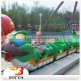 Newest fairground ride kids roller coaster trailer small roller coaster for sale