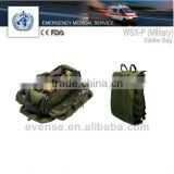 soldier bag; first-aid device; military standard; military backpack; health care; caregiver; soldier backpack